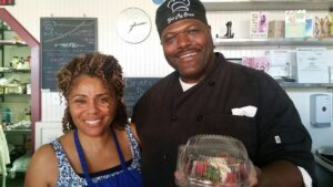 Marvin and Chandra Epting, owners of Yes My Sweet